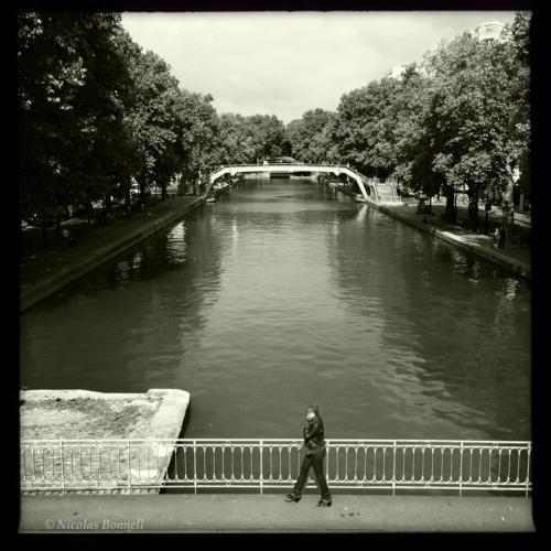 Canal Saint Martin - ©Nicolas Bonnell