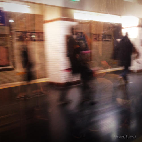 Flou metro #5 - Nicolas Bonnell