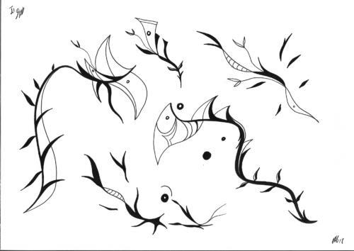 Insane bestiary / Bestiaire insensé #5