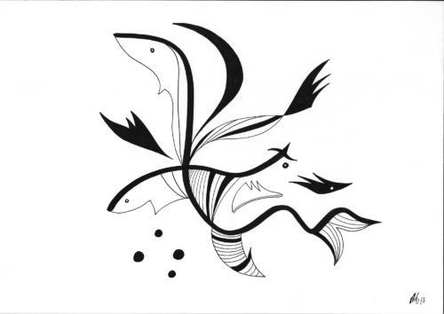 Insane bestiary / Bestiaire insensé #8