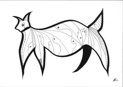 Insane bestiary / Bestiaire insensé #14