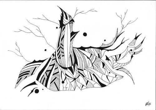 Insane bestiary / Bestiaire insensé #12