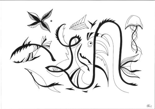 Insane bestiary / Bestiaire insensé #4